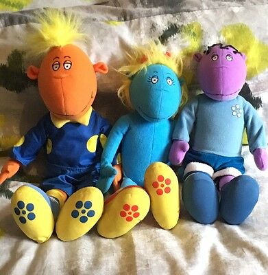 Tweenies Soft Toys 14 Inches Jake, Milo And Bella