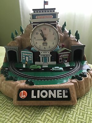 Vtg Lionel Train Limited Edition Clock Battery Operated