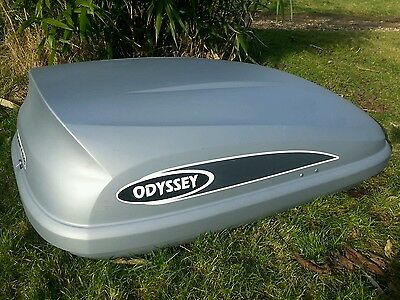 Karrite Odyssey Car Roof Top Box For Luggage/ Holiday/ Storage