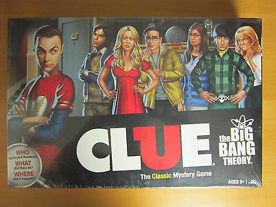 Clue - The Big Bang Theory - Board Game - New in shrink wrap.