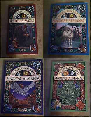 Lot of 4 Llewellyn's Magical Almanacs back issues rare wicca 2000 2001 2002 2003