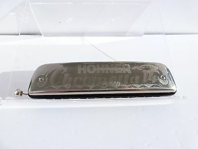 Hohner Chrometta 14  - Key of C - VINTAGE HARMONICA  - Made in Germany - NICE