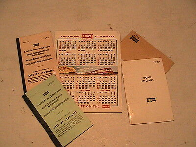Vintage Frisco Rr Items In Packet # 1