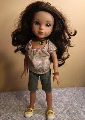 """Playmates Hearts for Hearts """"Dell"""" from Appalachian Mountains RETIRED 14"""" Doll"""