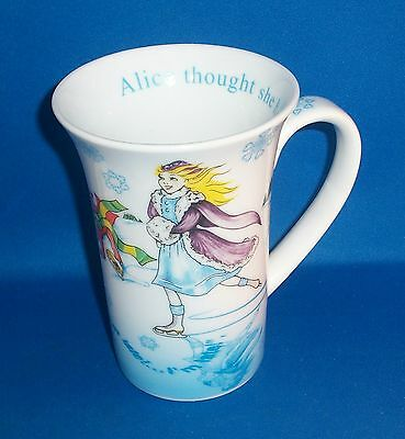 Alice in Wonderland Cafe Porcelain Coffee Mug By Paul Cardew Mad Hatter Cheshire