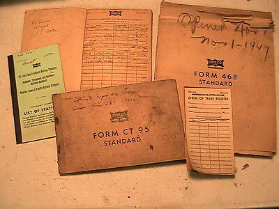 Vintage Frisco Rr Items In Packet # 4