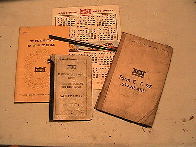 Vintage Frisco Rr Items In Packet # 5