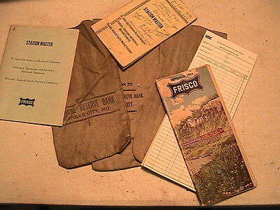 Vintage Frisco Rr Items In Packet # 6