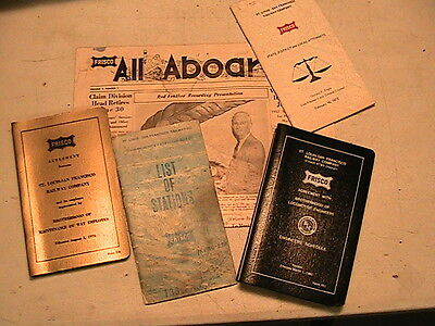 Vintage Frisco Rr Items In Packet # 8