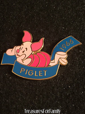Disney Pin Countdown to the Millennium Series #79 Piglet Winnie the Pooh FRE SHP