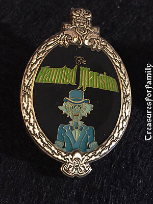 Disney Pin WDW Haunted Mansion Oval Frame Ezra Ghost FREE SHIP