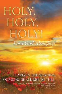 Bulletin-Holy Holy Holy (Pack Of 100)