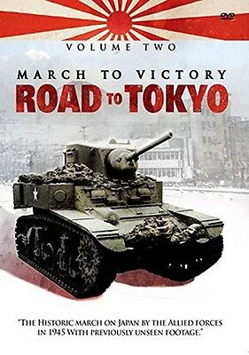 Vol. 2-March To Victory: Road To Tokyo (2013, DVD NUEVO) (REGION 0)