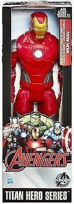 Marvel Avengers Titan Hero Series Iron Man 12 Inch Figure By Hasbro