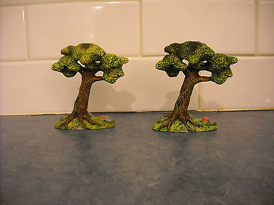Lot Breyer Stablemate Late Summer Trees Horse Play Medieval Set Doll House Farm