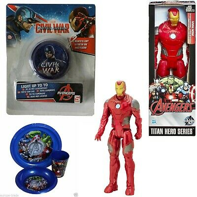 "MARVEL 12"" Titan Hero Series Action Figures Avengers Iron Man Endgame Infinity"