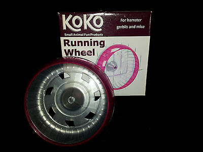 Koko Running Wheel-Exercise/Attach to Cage/Hamster/Gerbil
