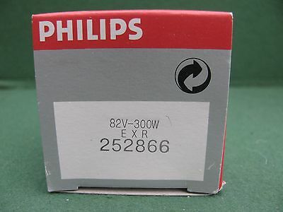 Philips 252866 EXR  Projector Light Bulb, 300W, 82V