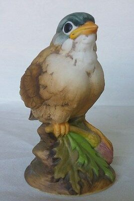 GOLDFINCH Baby BIRD Figurine by ANDREA # 6350 Ceramic ANDREA BY SADEK Japan CUTE