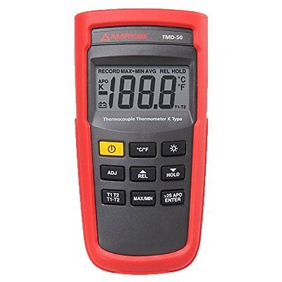 Amprobe TMD-53 Thermocouple Thermometer, K/J-Type