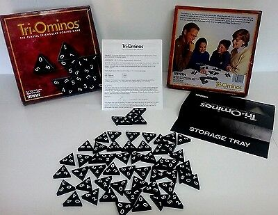 Tri Ominos The Classic Triangular Domino Game By Irwin Vintage 1992 Complete