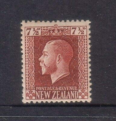 NEW ZEALAND....  1915 KGV recess  7½d brown  mint