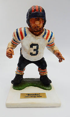 """1936 Chicago Bear; """"bronko""""  Ltd Ed. """"psychodelic"""" No.5/10  Signed By Fred Kail"""