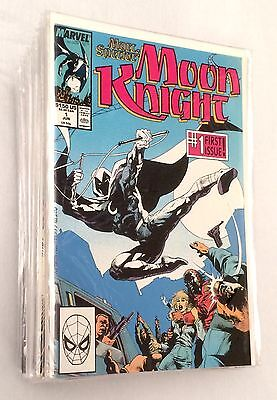 Marc Spector Moon Knight Comic Lot #1-51 Vf/nm Near Complete Set