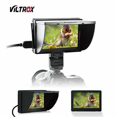 Viltrox DC-50 5 inch Large LCD Screen Monitor+Carrying Bag For Canon Nikon Sony