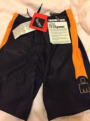 Black Official Ironman CYCLING Shorts -  Briefs, Jammers - NEW