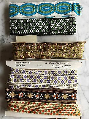 LOT Antique Dressmaker's Assorted Sewing Trim~Edging Made In France & W Germany
