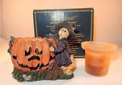 Boyds Bears  Purrstone Collection #81011 Sabrina Punkinpuss... Spooky Creations