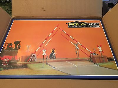 POLA -LGB 940 CROSSING GATE G SCALE European Style NEW IN BOX