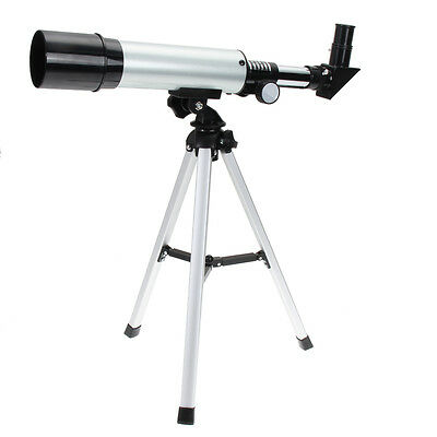 F360x50 Reflective Astronomical Telescope Outer Space Spotting Scope W/ Tripod