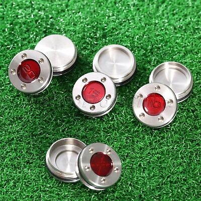 Pair Red Golf Putter Weights For All Studio Select Models Scotty Cameron Putters