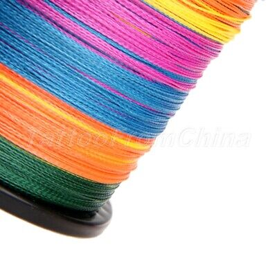 11 colors 300M Strong Dyneema Spectra Extreme PE 4 Strands Braided Fishing line