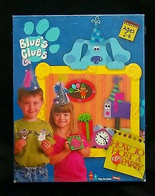 Blue's Clues How To Host A Kids Party Game Activities Craft Invitations NEW
