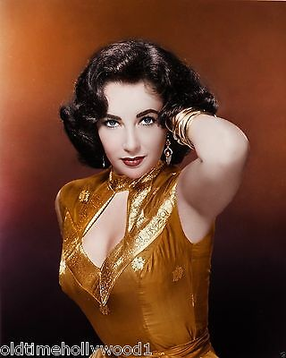ELIZABETH TAYLOR 8x10 PHOTO PICTURE IMAGE