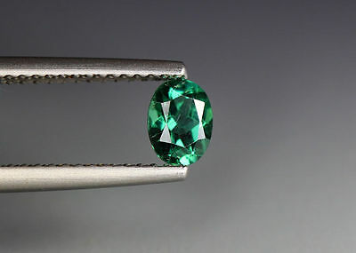 0.48 Cts_Gem Miracle Collection_100 % Natural Neon Green Apatite_Brazil