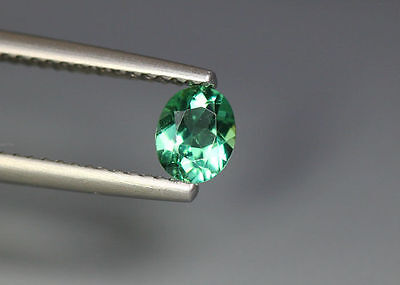 0.45 Cts_Gem Miracle Collection_100 % Natural Neon Green Apatite_Brazil