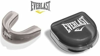 Everlast EverShield Double Mouthguard Boxing Gym Sparring mouth guard NEW