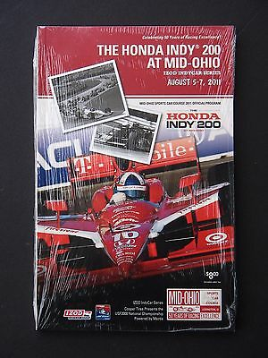 2011 Honda Indy 200 at Mid Ohio Program NM  Indy Car Racing