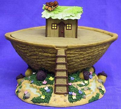 CHARMING TAILS Mouse Mice RETIRED NOAH'S ARK Ship Rainy Day Cruise