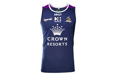 "Nrl Melbourne Storm 2017 ""isc"" Training Singlet - Brand New"