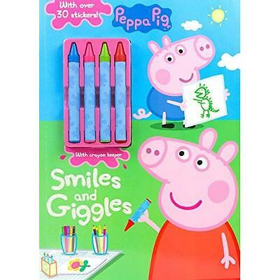 Peppa Pig Smiles and Giggles (Color & Activity With Crayons) (Paperback)