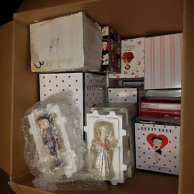 Huge Betty Boop Porcelain Statue Lot of 30 w/Danbury Mint, Westbury and More!