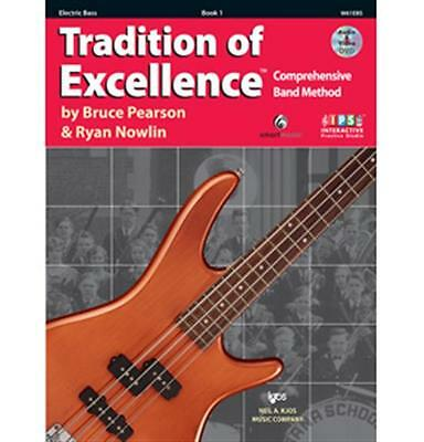 New Tradition of Excellence Book 1 - Electric Bass