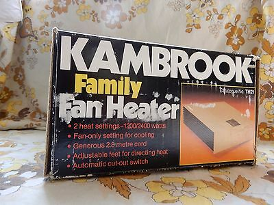 Vintage/Retro Kambrook Fan/Heater