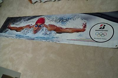 Bridgestone Tire 2016 Summer Olympic Banner (Swimming)