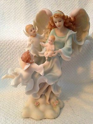 """Seraphim Classics """"Into the Arms of Angels"""" By Roman, Inc. 2003, Item #84909"""